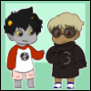 lacertae_dreamscape: (clothes swap, homestuck)
