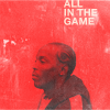 "omg_wtf_yeah: Omar Little in side profile, with the text ""All in the game"" over his head. (The Wire - Omar Little)"
