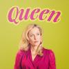 tree: bedelia du marier with the word 'queen' above her head ([hannibal] you're breakin my heart)