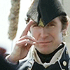 isweedan: Paul McGann as Lt. Bush, saluting (Lt. Bush Salute)