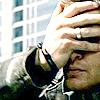 scribblesinink: Dean facepalming (emo spn dean facepalm)