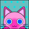 firecat: cartoon cat face (catlike icon)