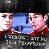 mijan: (Kirk/McCoy: Threesome?)