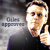 littleotter73: Giles Approves (Giles Approves)