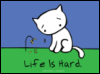 rabswom: (Sad Kitty)