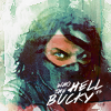 """goodbyebird: Captain America 2: A grungy Winter Soldier wearing his mask, """"Who the hell is Bucky?"""" (Avengers man on the bridge)"""