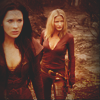 veleda_k: Cara and Kahlan from Legend of the Seeker (Legend of the Seeker: Cara and Kahlan)