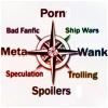 mecurtin: fandom compass: porn/wank/spoilers/meta and so around (fandom compass)