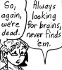 lyonesse: (brains skin horse)