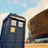 alchemise: the TARDIS in Cardiff (DW: TARDIS!)