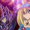alexseanchai: Dark Magician Girl and Dark Magician work together (Yu-Gi-Oh! Dark Magician Girl and Dark Ma)