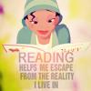 beachbunny: (Reading helps me escape)