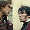 pro_patria_mortuus: Enjolras and Courfeyrac in consultation (chief and center)
