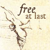 phineasfrogg: A bird flying away with the caption 'free at last'. (free @ last)