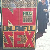 catalyse: A guy holding a sign warning people about UNLAWFUL SEX. A San Francisco original! (NO UNLAWFUL SEX.)