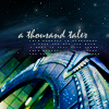 paian: A stargate viewed at an angle, caption 'A thousand tales' (gate thousand tales by beeej)