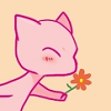 vivillion: (mew being cute)