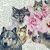 howls: (wolves & flora)