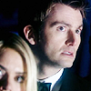 genarti: The Tenth Doctor and Rose looking highly dubious and/or unsettled. ([dw] definitely a cow fetus)