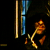 genarti: Aragorn with cloak and cowl and pipe, lurking in a shadowy corner. ([lotr] i lurk in your general direction)