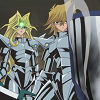 alexseanchai: Jounouchi the Mirror Knight saves Mai the Mirror Knight (Yu-Gi-Oh! Jounouchi saves Mai)
