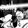 "snickfic: black and white image of Sidney Crosby, text ""Crosby"" (sid)"