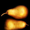 wildpear: (pair of pears (girlboheme), Pears on black ground (girlboheme))