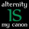 jenett: Text: alternity IS my canon (Alternity IS my canon)