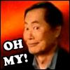 "smackshack: George Takei says ""Oh my!"" (Oh my!)"