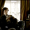 tenebrousverity: Sherlock at 221b (BBC) (home)