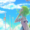 merli: Just a cute lil' picture of Gumi. (GUMI, Vocaloid, anime) (Default)