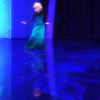 daphnie_1: Elsa from Disney's Frozen dancing on a frozen floor during the films song Let it Go (Disney | Elsa | Let It Go)