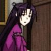 estirose: Kazehana hesitates outside a door. (Kazehana - Sekirei)