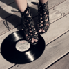 spilledperfume: (Records and Shoes)