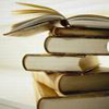 weirdquark: Stack of books (sassafrass circle)