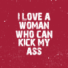 whymzycal: Cowboy Bebop quote I love a woman who can kick my ass (bebop love asskickin girls)