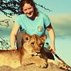 wackymanda: (Photo: me and lion)