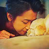 keeeerols: (Riida and dog *extreme cuteness*)