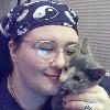 """azurelunatic: <user name=""""azurelunatic""""> snuggling kitten.  (Marah, Eris Raven)"""