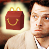 daiyaonna: (castiel happy meal)
