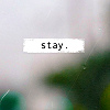 haerae: stay (stay)