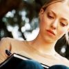 "amor_remanet: photo of Amanda Seyfried in ""Dear John,"" writing in her journal. (emily: writing things.)"