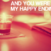 stopping: (my happy ending)