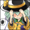 koishi_komeiji: Art by: Po R (monopoly) (06 Blushing)