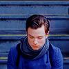 wordplay: (Glee - Kurt in blue)