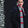 wordplay: (Glee - Blaine & his scarf)