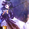 unico_love: (Hotaru with umbrella)