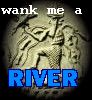 "azurelunatic: Stone relief of Enki creating rivers. ""Wank me a RIVER"" (wank me a river, Enki)"