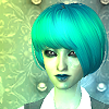 waxesnostalgic: Alien sim Elinor (Elinor - sims2)