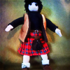 turlough: fabric doll of Jamie McCrimmon, all by me ((dr who art) badass scot)